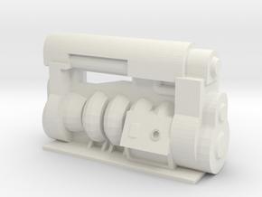 Fusion Generator in White Natural Versatile Plastic