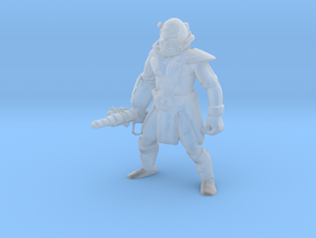 Tribal Warrior  in Smooth Fine Detail Plastic