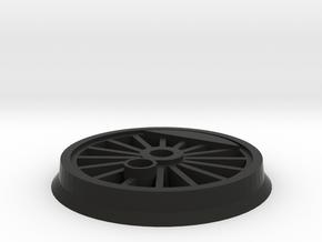 Gauge 1 BR55 Driving Wheel in Black Premium Versatile Plastic