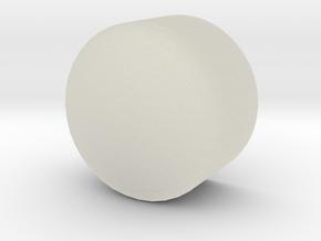 Gauge 1 NWR Headlamp Lens in Transparent Acrylic