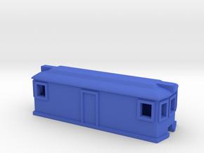 Rail Motor in Blue Processed Versatile Plastic