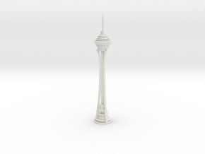 Stratosphere Tower (1:2000) in White Natural Versatile Plastic