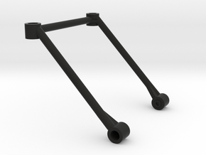 M03 Rear Body Post Support (M05 Posts) in Black Natural Versatile Plastic