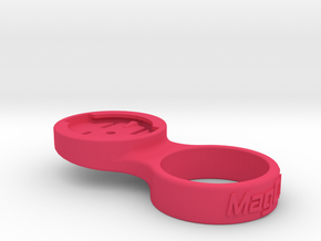 "Garmin Stem Cap Mount 1-1/8"" - 0deg in Pink Processed Versatile Plastic"
