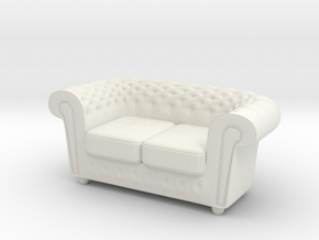 Printle Thing Sofa 11 - 1/24 in White Natural Versatile Plastic