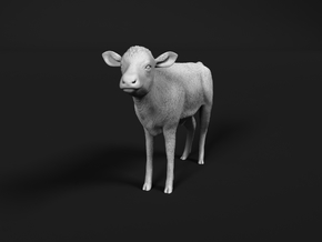 ABBI 1:76 Standing Calf in Smooth Fine Detail Plastic