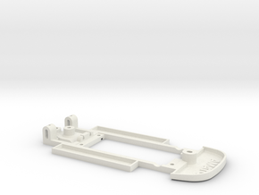 Chassis for Ninco Jaguar XK120 in White Natural Versatile Plastic