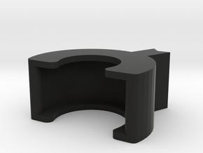 MM510 Lock - Small Nut in Black Natural Versatile Plastic