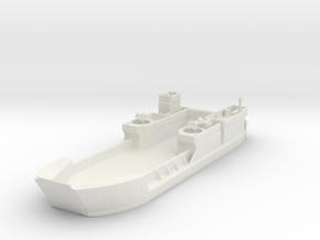 Landing Craft Tank LCT MK  6 1/350 in White Natural Versatile Plastic