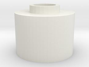 G&G GR25 stabilized Hopup spacer for m4 unit  V2 in White Natural Versatile Plastic