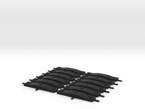Bolster OO in Black Premium Versatile Plastic: 1:76 - OO
