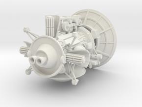 1-72 Cassini Probe in White Natural Versatile Plastic