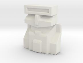Scravenger, Sunbow (Titans Return) in White Natural Versatile Plastic