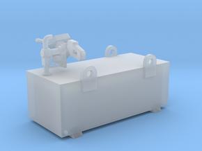 Condor 600 Litre Aluminium Diesel Tank Kit 1-87 HO in Smooth Fine Detail Plastic