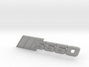 Ford Mustang S550 Tri-Bar Fender Badge in Aluminum