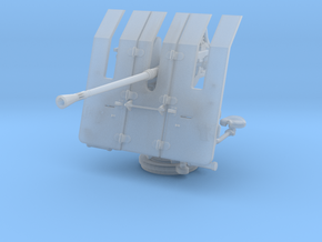 1/40 DKM 3.7cm Flak M42 Single Mount in Smooth Fine Detail Plastic