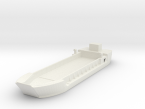 Landing Craft Tank LCT MK 5 1/144 in White Natural Versatile Plastic