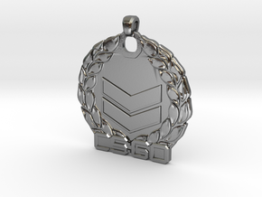 CS:GO Silver 2 Pendant in Polished Silver