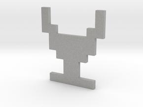 Atari Adventure Chalice - Medium in Aluminum: Small