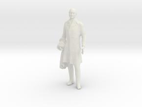 Printle F John Quincy Adams - 1/24 - wob in White Natural Versatile Plastic