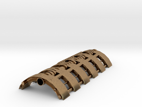 31.5mm chassis part 2 in Natural Brass