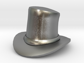 Eggcessories! Top Hat in Natural Silver