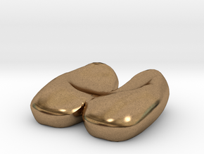 Eggcessories! Egg Shoes in Natural Brass