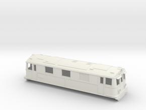 Swedish SJ electric locomotive type Dk2 - H0-scale in White Natural Versatile Plastic