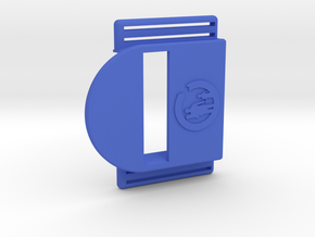 Bark Mini – Armband for MiaoMiao, the Libre reader in Blue Processed Versatile Plastic