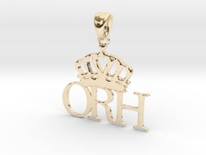 ORH PENDANT in 14K Yellow Gold