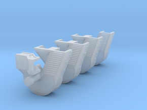 1:500 - Airport Stairs [x1] in Smooth Fine Detail Plastic
