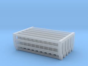 1/160 Drive-In Movie Speakers Set001 in Smoothest Fine Detail Plastic