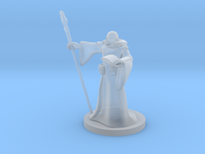 Half Orc Wizard in Smooth Fine Detail Plastic