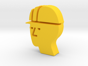 the Operations Expert Game Piece in Yellow Processed Versatile Plastic