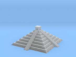 3mm Chichen Itsa-Style Pyramid in Smooth Fine Detail Plastic