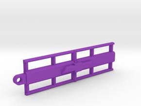 Chevy Key Chain in Purple Processed Versatile Plastic