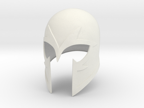 X-Men: First Class -Magneto helmet (no horns) in White Natural Versatile Plastic