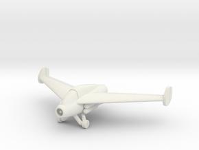 (1:144) Kayaba Ku-4 Katsuodori in White Natural Versatile Plastic