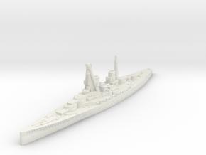 SMS Derfflinger Battlecruiser in White Natural Versatile Plastic