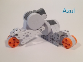 Flush Right NXT Motor Mount in White Natural Versatile Plastic