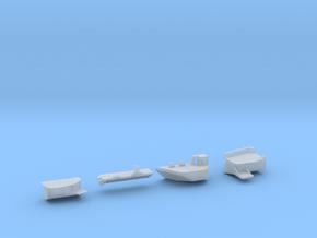 1:350 Scale USS Nimitz 2001-2009 Sponson Update Se in Smooth Fine Detail Plastic