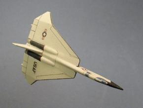 1/285 (6mm) F-108 Rapier in White Natural Versatile Plastic