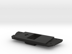 3rd Gen Toyota Switch Plate w/ towpro and single c in Black Natural Versatile Plastic
