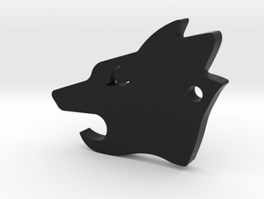 Howler Pup - Wolf Pack EDC in Black Natural Versatile Plastic