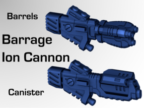 Barrage Ion Cannon in Frosted Ultra Detail: d3