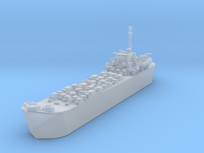Landing Ship Tank LST 1/1200  in Smooth Fine Detail Plastic