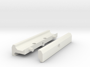 ACOG adapter in White Natural Versatile Plastic