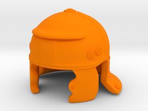 Roman Test in Orange Processed Versatile Plastic