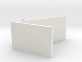 _7_Boxdisplay-50mm-kort in White Natural Versatile Plastic