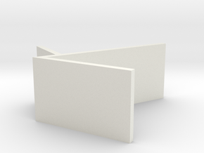 _7_Boxdisplay-50mm-lang in White Natural Versatile Plastic